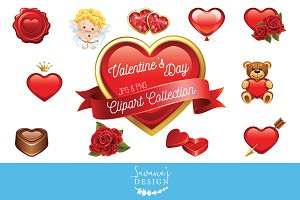 Valentine's Day Clipart Graphics
