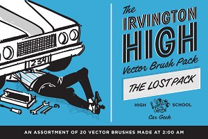 Irvington High Vector Brushes