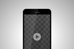 Smartphone with video player