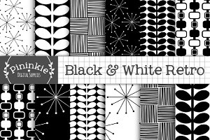 Black and White Retro