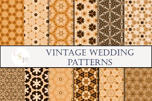 Vintage Wedding Patterns