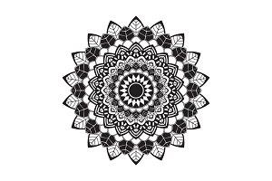 circular pattern Leaves