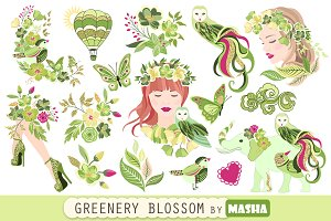 GREENERY clipart
