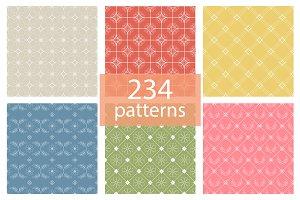 Line vintage patterns - 234