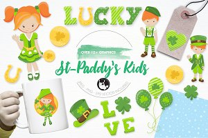 St-Paddy's illustration pack