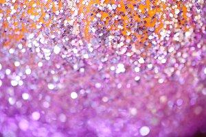 Glitter bokeh background