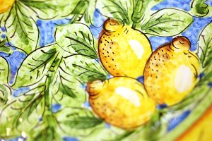 Lemon Italian tile