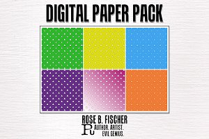 Digital Paper-Triangle Town!
