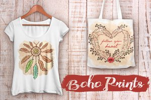 SALE!! VECTOR Boho Prints