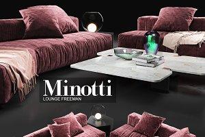Sofa Minotti Lounge Freeman