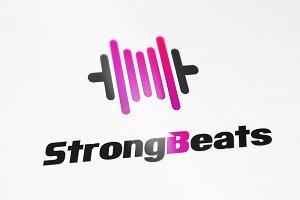 StrongBeats logo