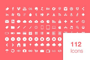 112 Super Awesome Icons