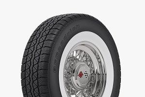 Classic Wire Wheel & Tire BFG