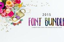 2015 OTSS font bundle