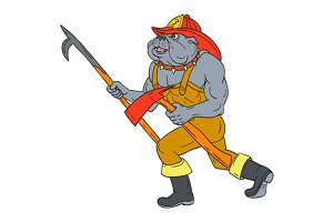 Bulldog Firefighter Pike Pole
