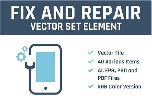 Fix And Repair Vector Set Element