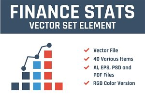 Finance Stats Vector Set Element