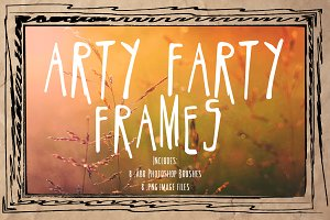 Arty Farty Frames & PS Brushes