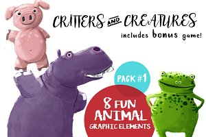 Critters & Creatures - Pack #1