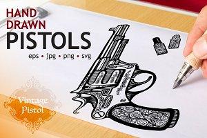 Sketch Pistols Set