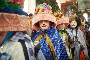 National costume in Nicaragua