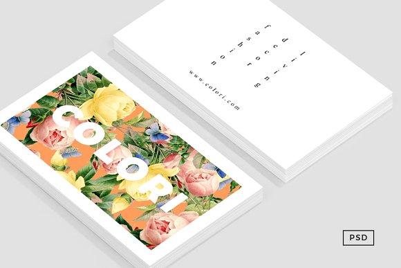 Flora Business Card Template