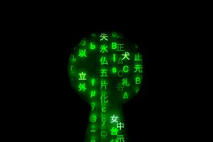 Keyhole shape with matrix