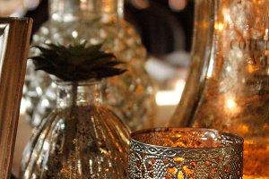 Enchanted Wedding Table Centerpiece