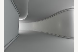 Abstract Modern Open Space