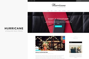 Hurricane - Blog and News Theme