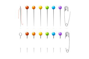 Sewing Needles or Pin Set