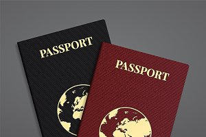 International passports set