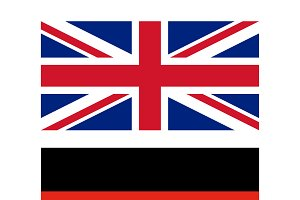 Flags of UK and Germany