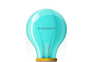 Creative idea flat concept