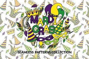 Mardi Gras - Patterns Collection