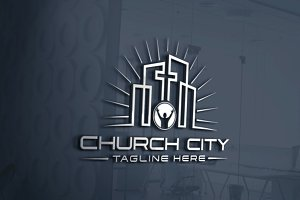 Church City | Logo Template
