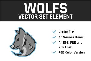 Wolfs Vector Set Element