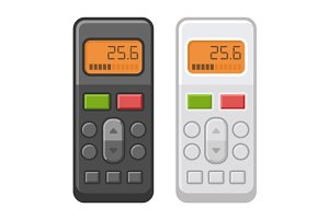 TV Remote Control Set