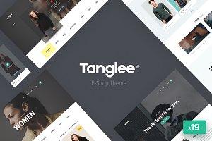 Tanglee - E-Shop theme PSD