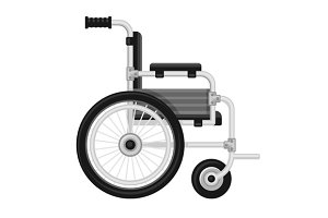 Wheelchair Medical Icon