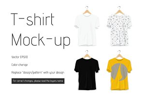 Vector T-shirt Mockup