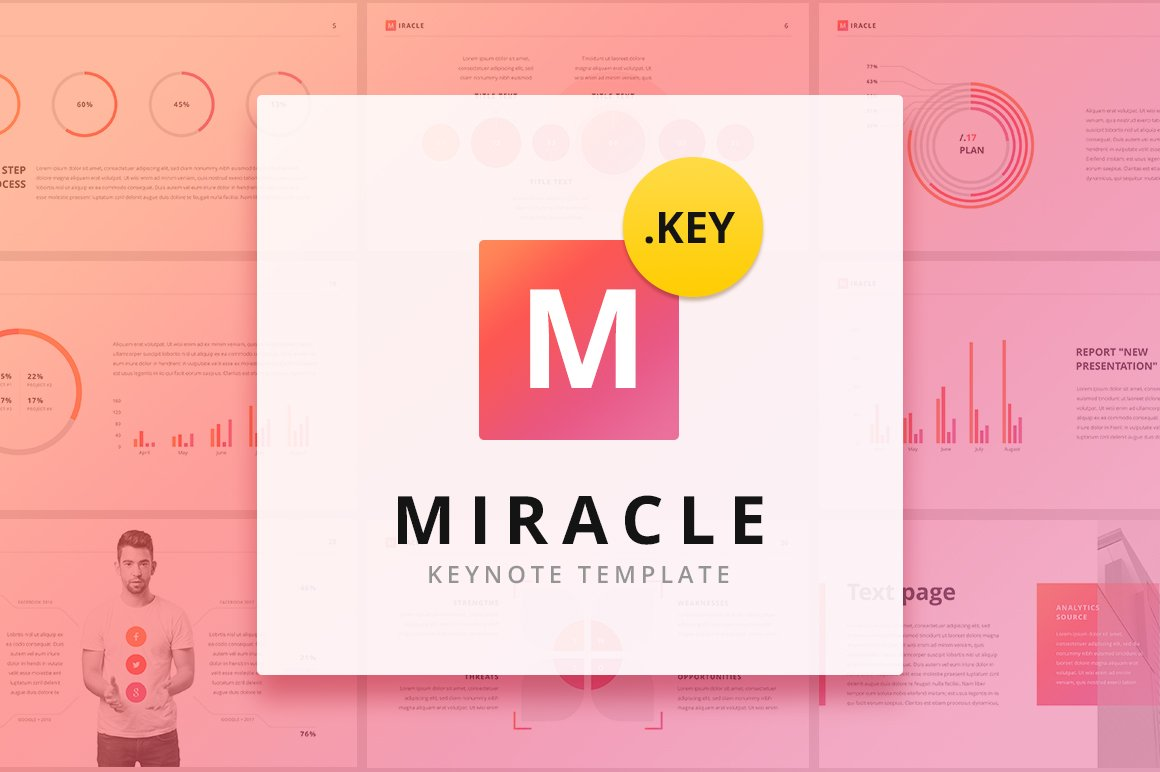 Miracle modern keynote template presentation templates miracle modern keynote template presentation templates creative market toneelgroepblik Image collections