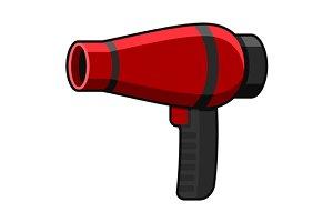 Hairdryer Icon Set