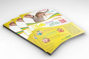 Kids Festival Flyer Template