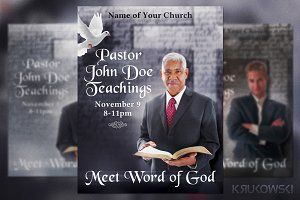 Pastor Teachings Flyer