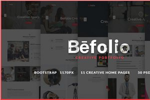 Befolio - Multi-Use Portfolio Theme