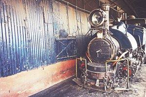 Old Steam Toy Train