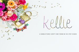 Kellie - 2 Fonts Included