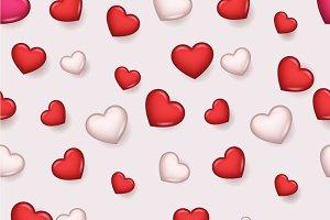 Pattern Valentine Day