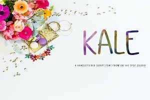 Kale - All Caps Font